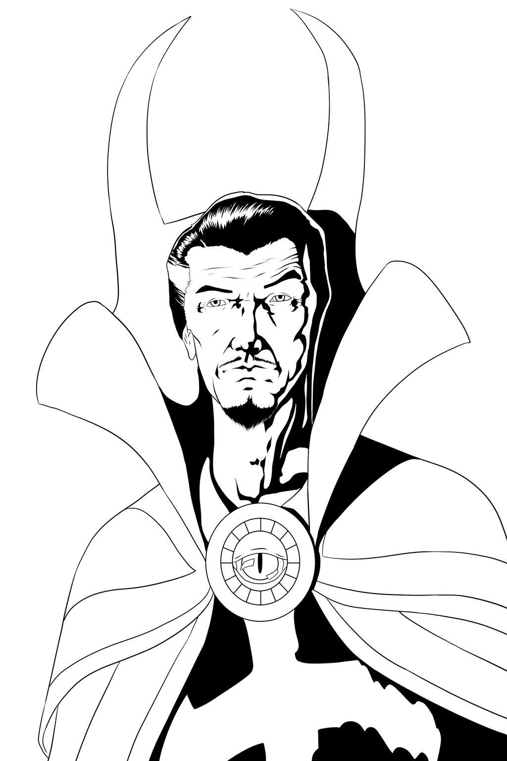 Image Result For Dr Strange Coloring
