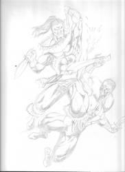 Killmonger vs Kraven