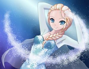 Elsa the Snow Queen (Frozen)