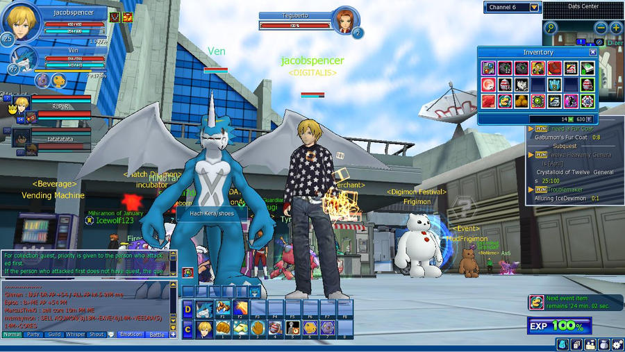 Digimon Masters Online Exveemon by jacobspencer04 on DeviantArt
