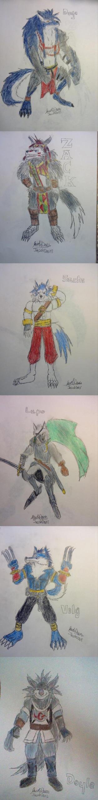Wolflings by jacobspencer04