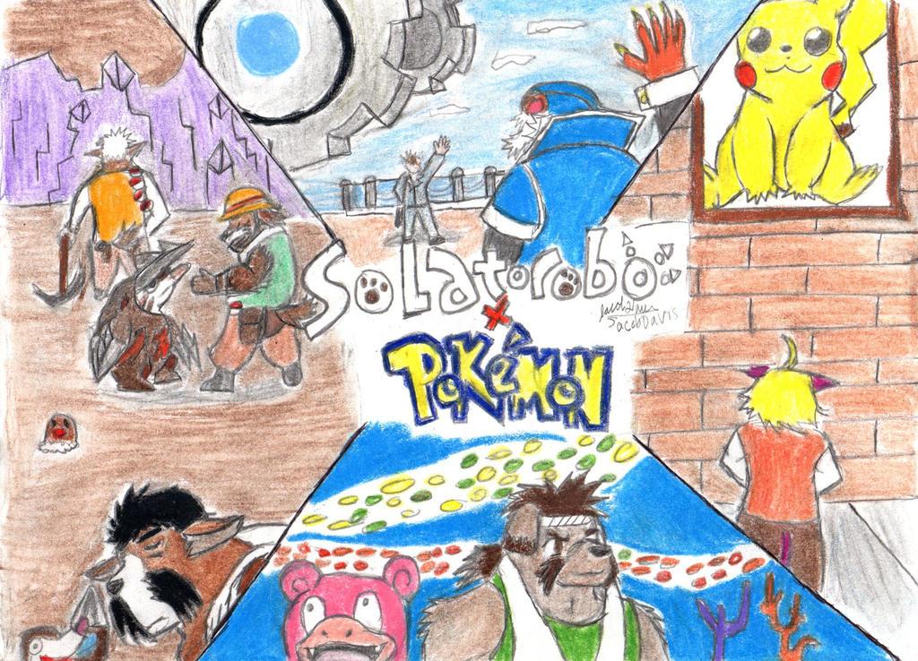 Solatorobo X Pokemon by jacobspencer04