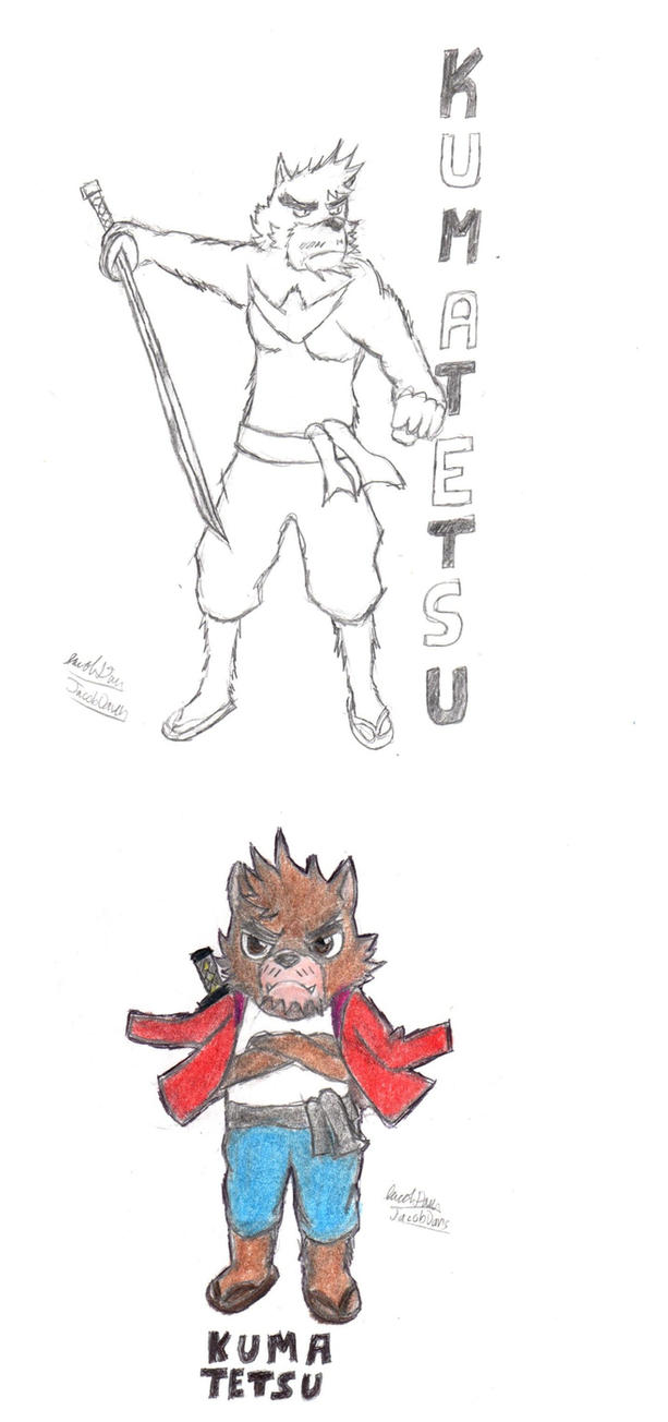 The Bear Swordsman by jacobspencer04