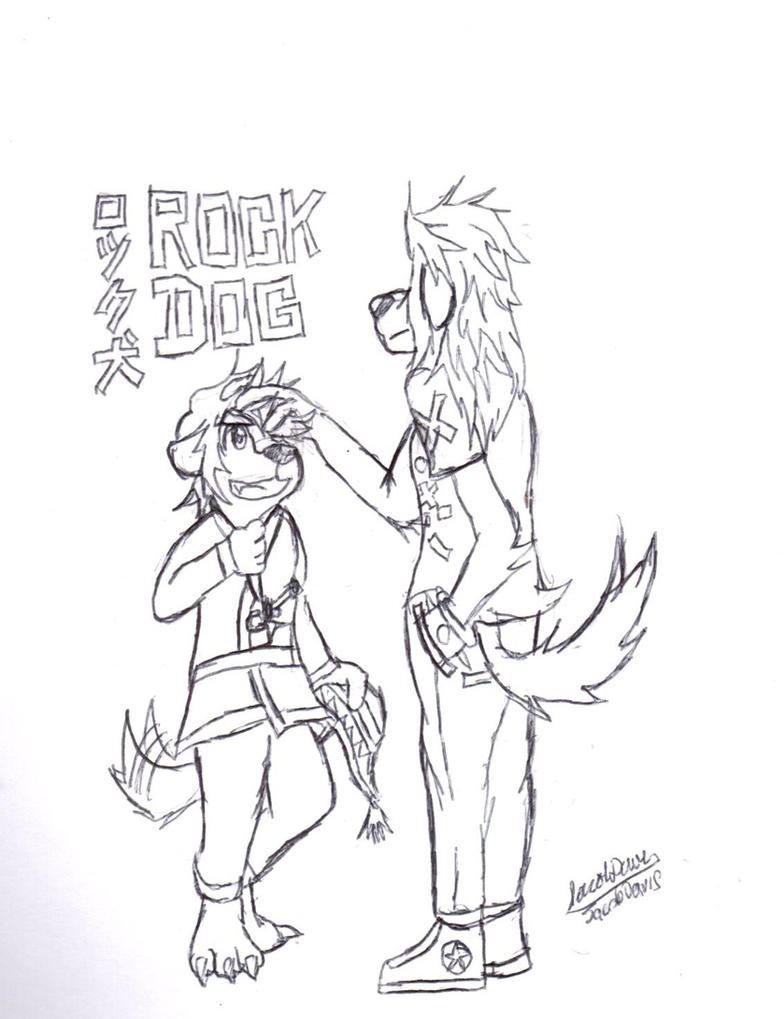 Rock Dog by jacobspencer04