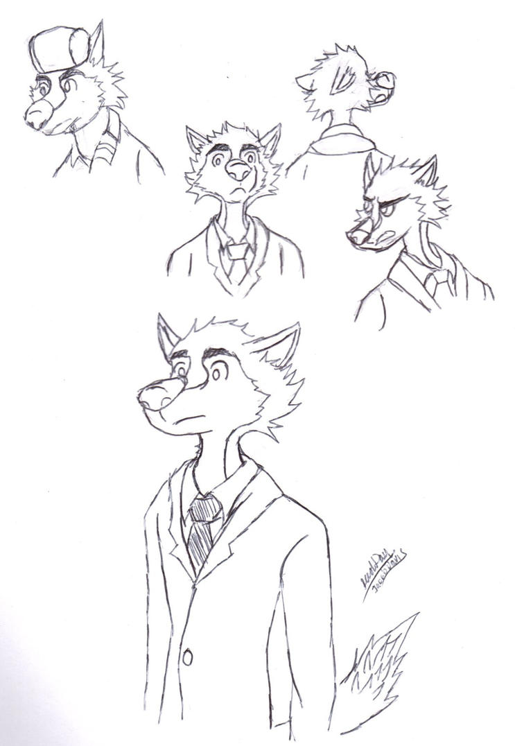 Well-dressed Wolf by jacobspencer04