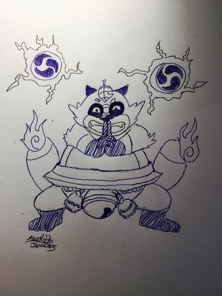 Chubby Tanuki 2 by jacobspencer04