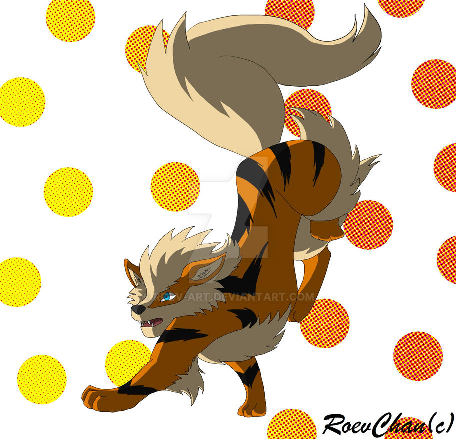 Arcanine by RoevChan