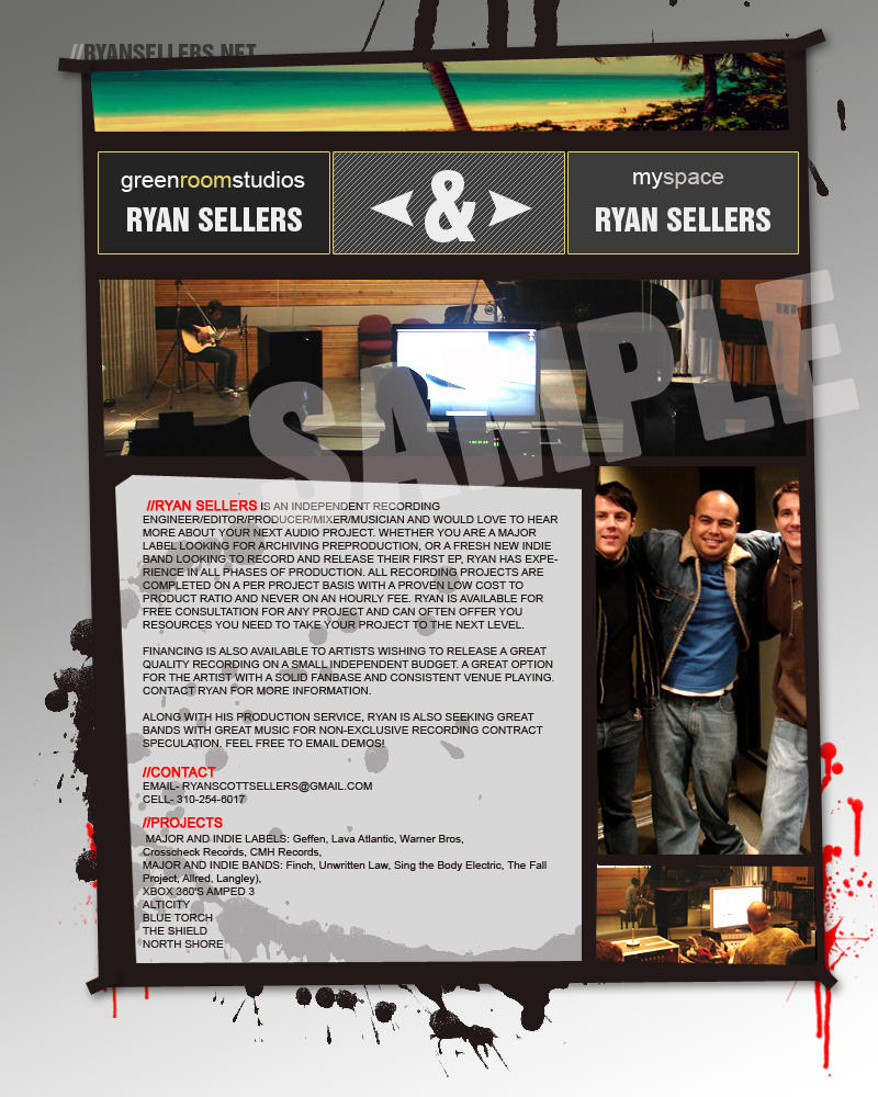 ryan sellers web poster by shankonator