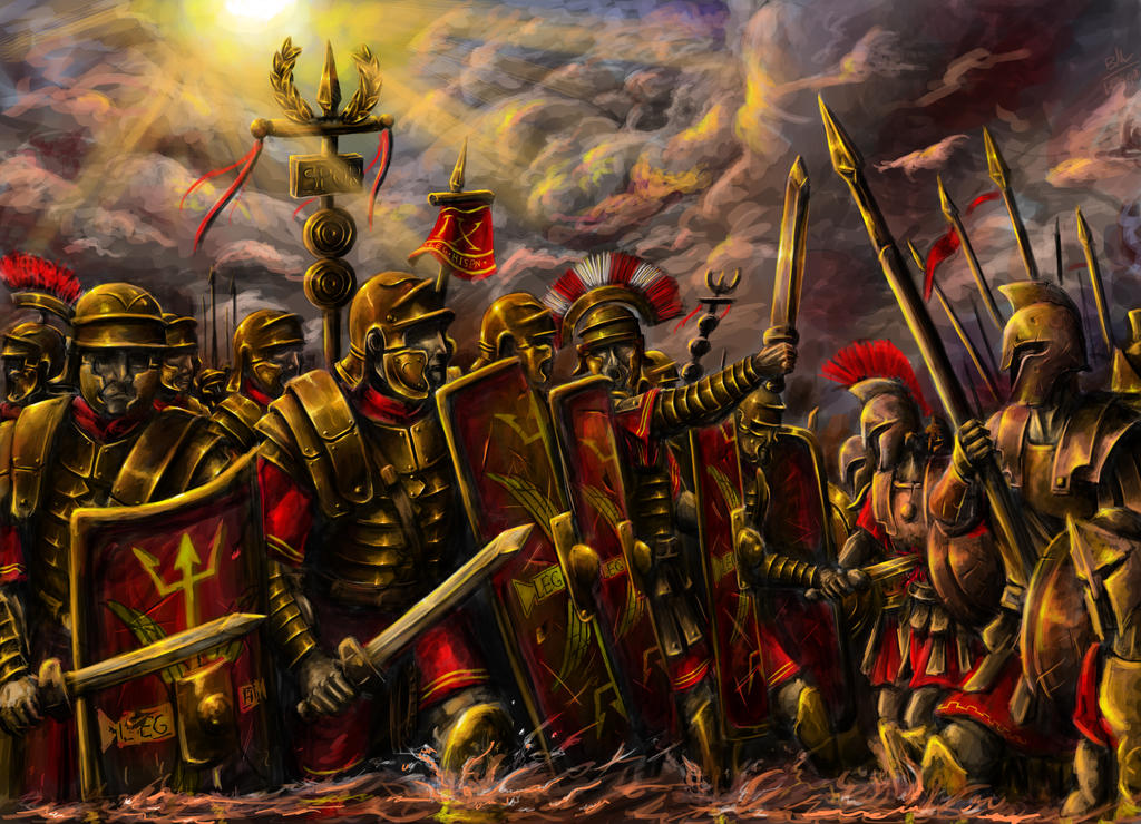 3e5c3efa1bc IX Legio Hispania II Evocati Cohort by WannaTryMe1138 on DeviantArt