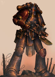 Legionary of the fourteenth Dusk Raiders