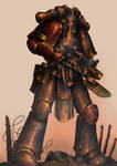 Legionary of the fourteenth Dusk Raiders