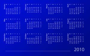2010 Calendar by dsbilling