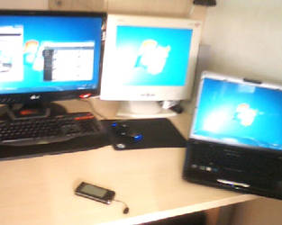 My desk by dsbilling