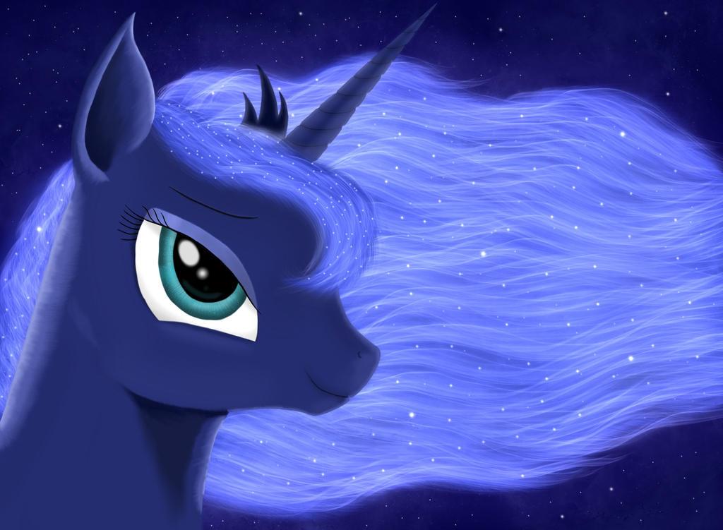 Luna Portrait by Qebehsenuef