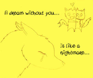 A dream without you... by Cletzenbougen