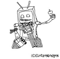 Media Robot by Cletzenbougen