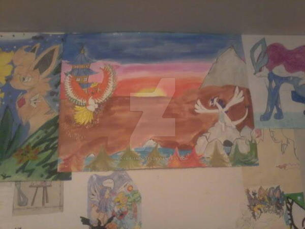 Pokemon Painting no one has ever seen by KyrifianDoots