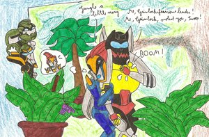 Scary jungle by foxypervbisex by Dinobots-Club