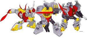 Dinobots G1 by Doton-Element by Dinobots-Club