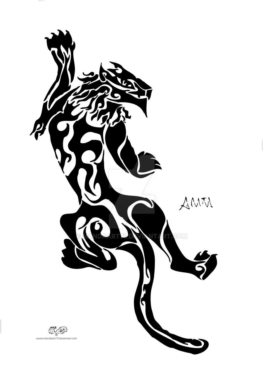 Scottish Lion Tattoo Designs