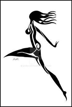 Tribal Nude Female 2
