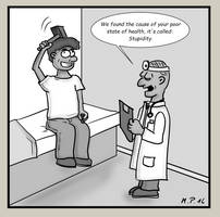 Stupid at the doctor's by jayanam