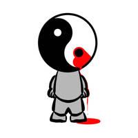 Yin Yang Heart Balance by jayanam