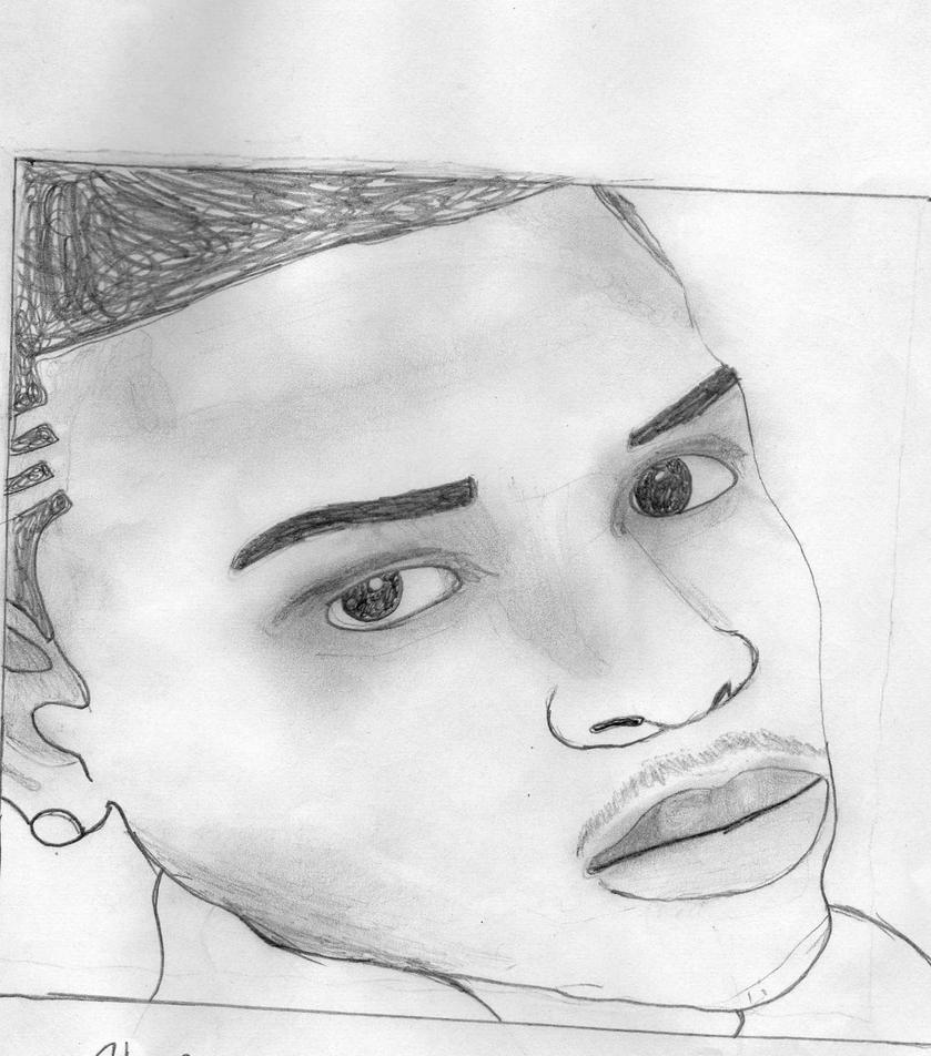 Images of Chris Brown Drawings 2017 - #SpaceHero