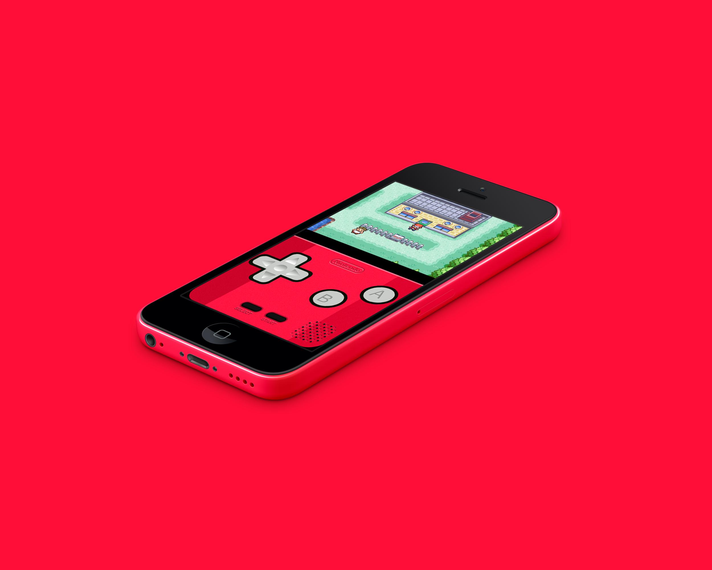 IPhone 5c GBA Red By Vitalovitalo On DeviantArt
