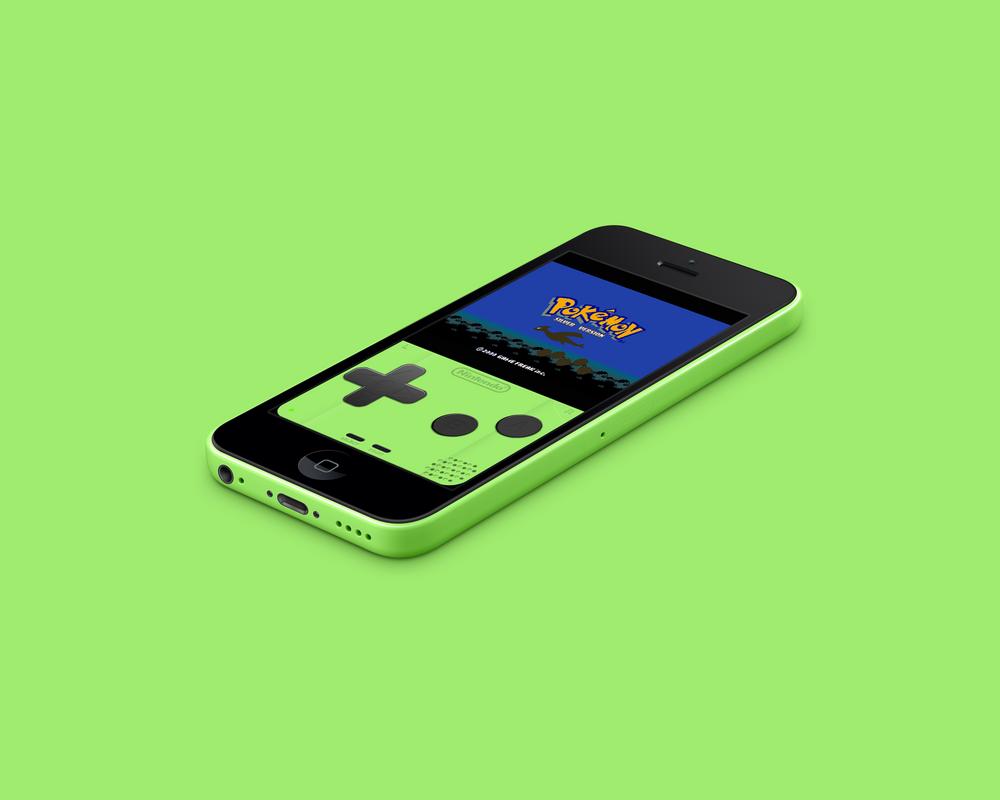 iphone 5c green skin by vitalovitalo on deviantart