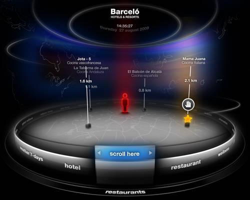 3d touchscreen interface 2
