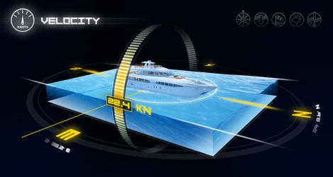3D Boat Information Screen 2