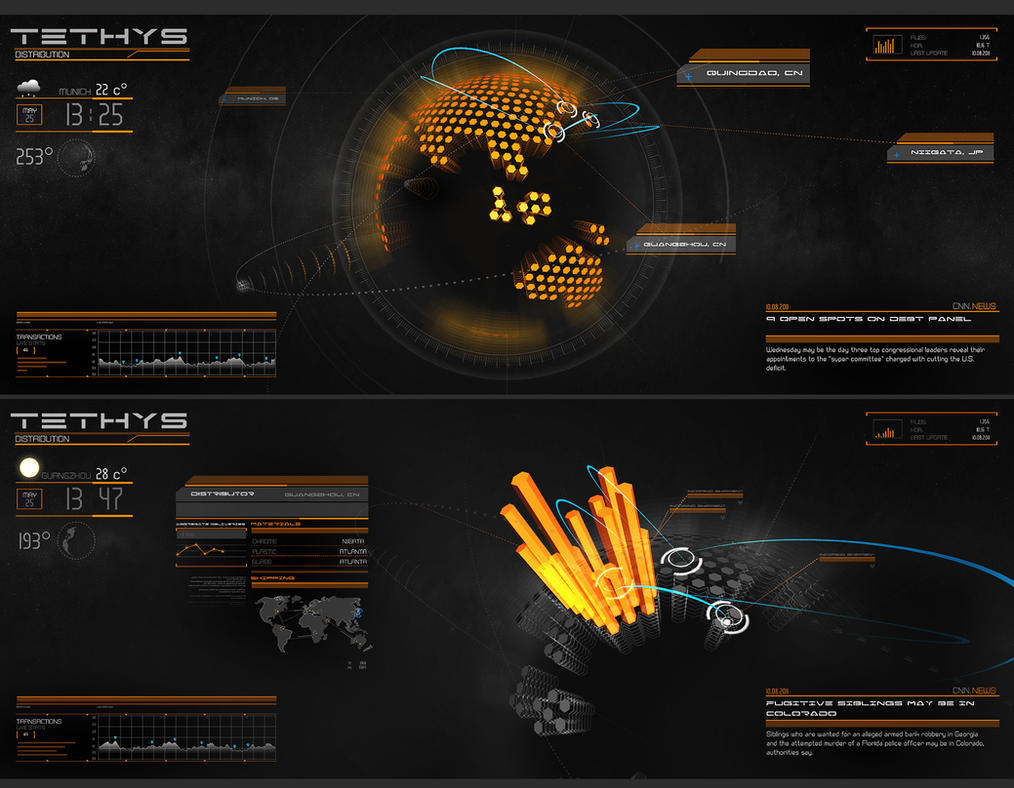 Realtime 3D Statistics I by stereolize-design