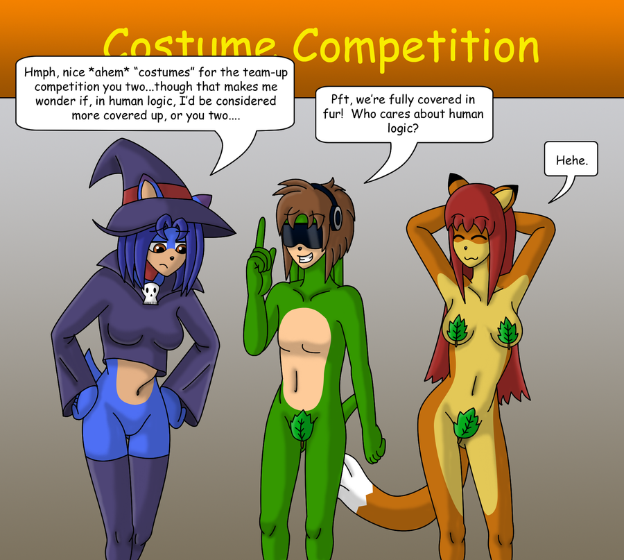 The Costume Competition by gameboysage