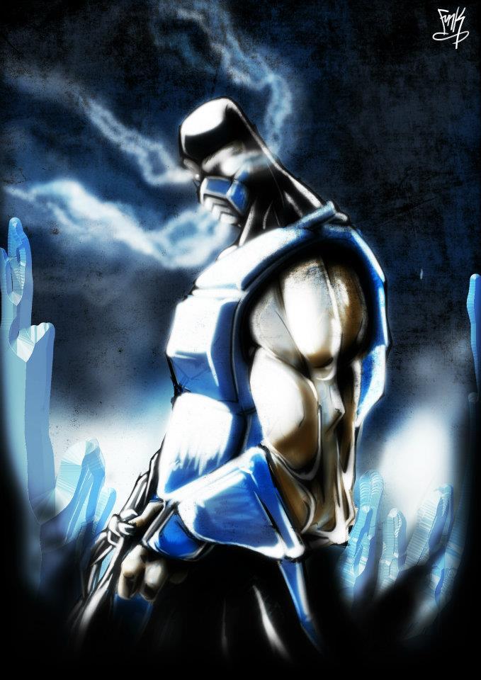 Mortal Kombat X Sub Zero Deviantart Mortal Kombat - Sub Ze...