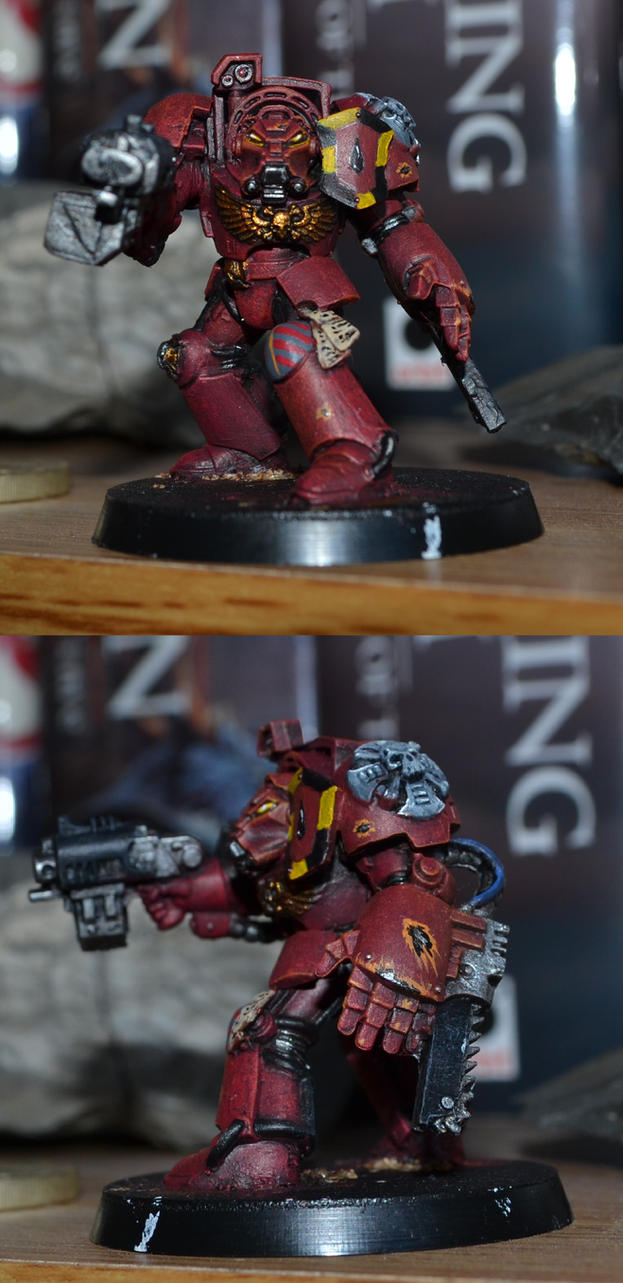 Blood Angels Terminator by Coconutdawn
