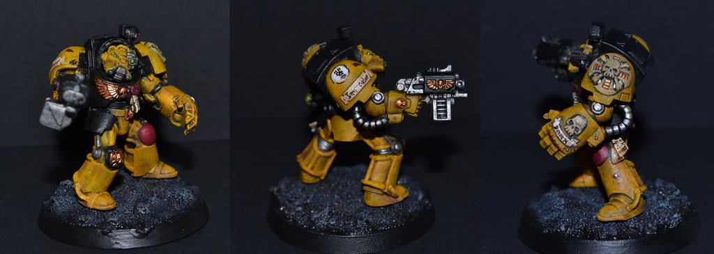 Imperial Fist Terminator by Coconutdawn