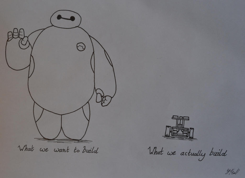 To Build a BayMax by Coconutdawn