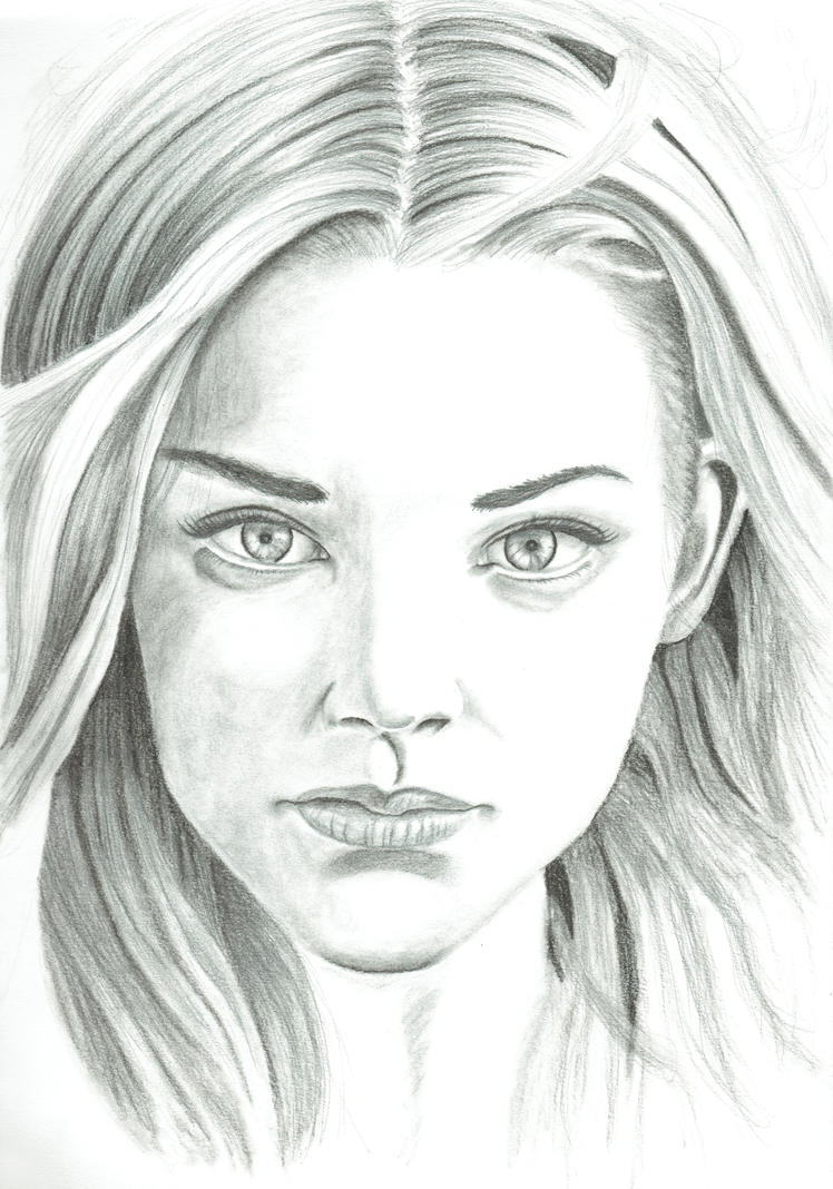 Natalie Dormer quick sketch by Coconutdawn