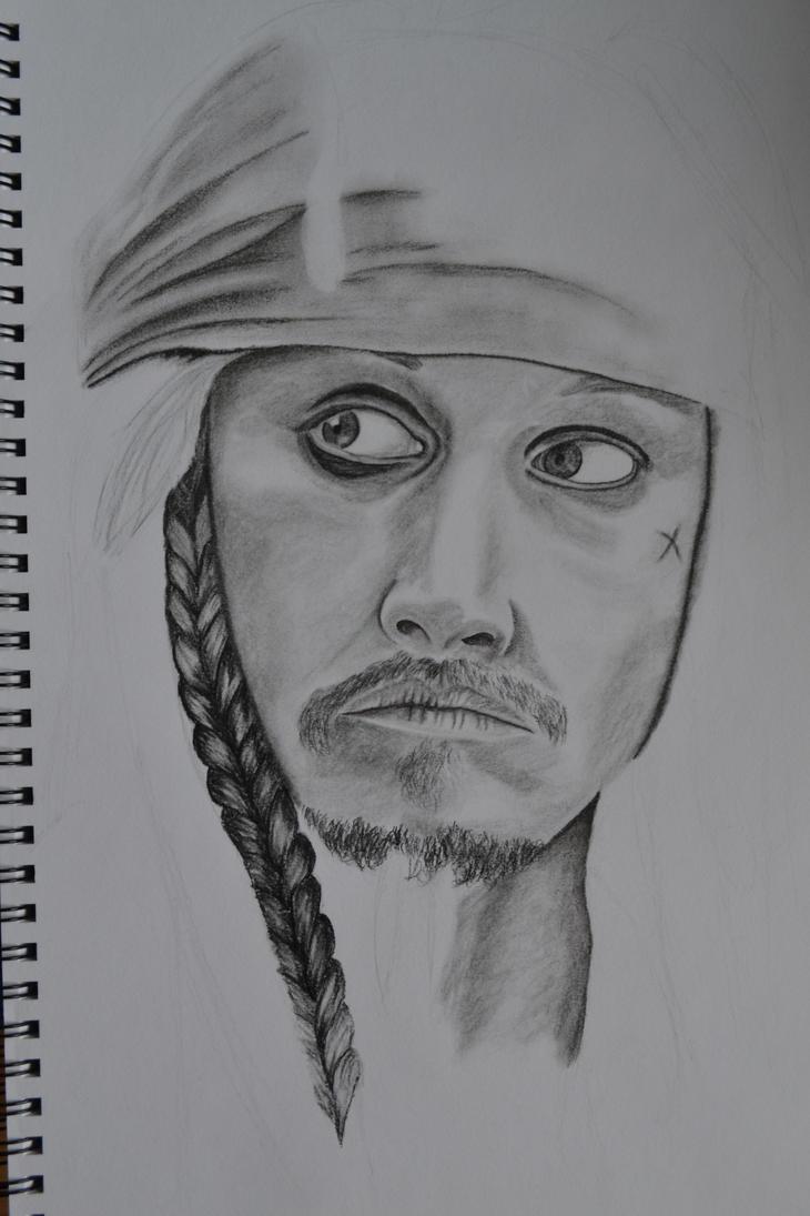 Jack Sparrow WIP by Coconutdawn