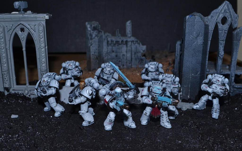 Luna Wolves Tactical squad WIP 1 by Coconutdawn