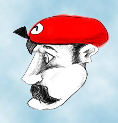 Mario by brunokoi