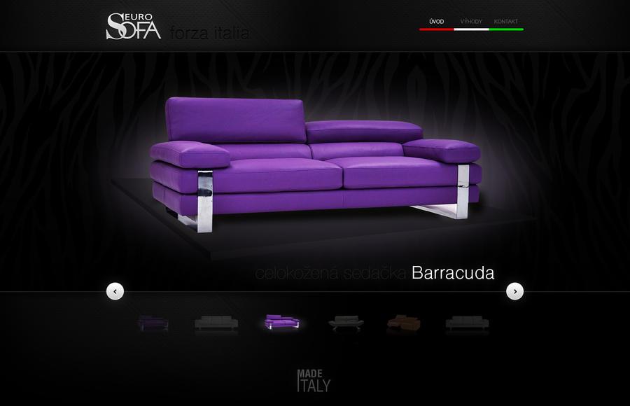 Euro sofa luxusne sedacky microsite by tomasdolezal on for Couch 700 euro