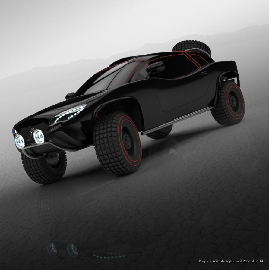 Citroen Dakar Concept by Kamil1003