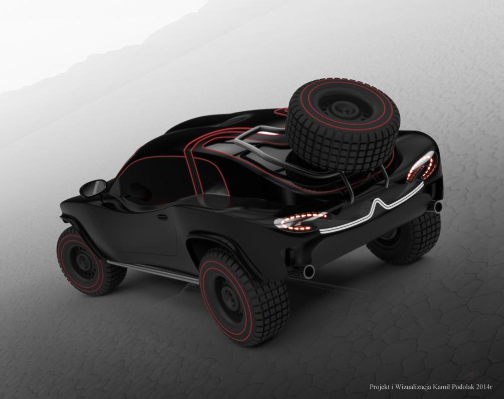 Citroen Dakar Concept 2 by Kamil1003
