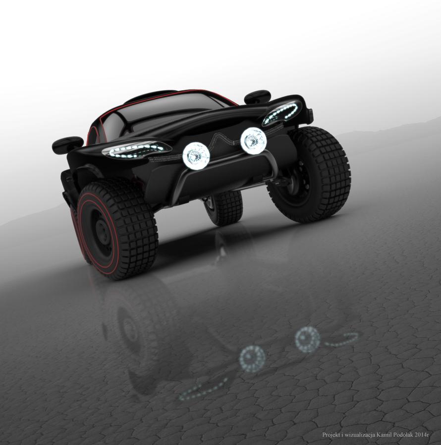 Citroen Dakar Concept 3 by Kamil1003