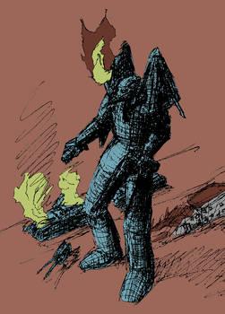 God-Knight of Mars I