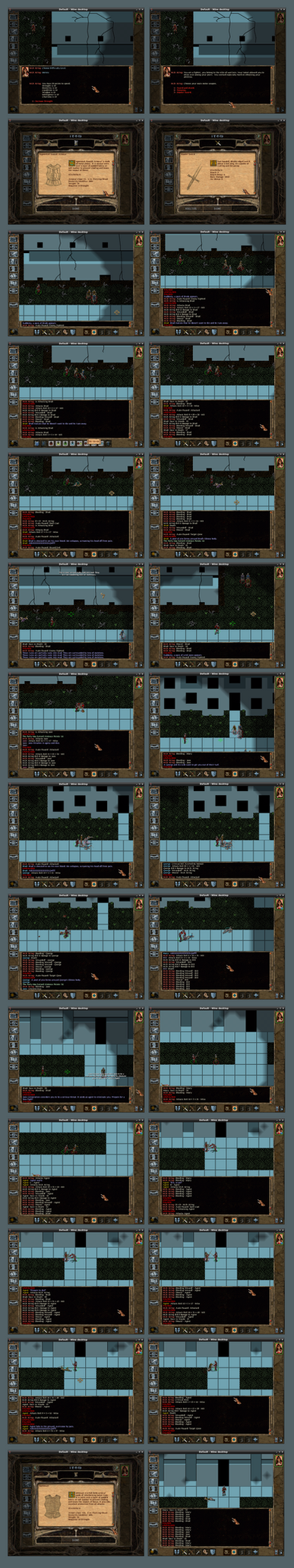 Urban Wasteland Screenshot 001 by ForgottenDemigod