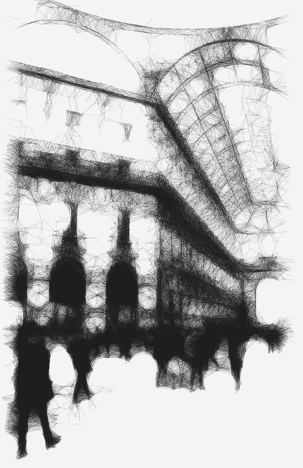 Geometrics of City Life #11 - Galleria, Milan by siddhartha19