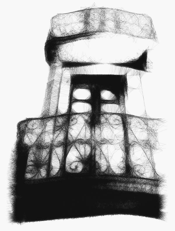Geometrics of City Life #12- Veronian Balconies by siddhartha19